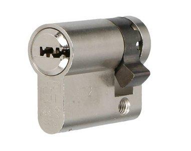 Enkele veiligheidscilinder S2 SKG2 30/10 Met Keersleutel