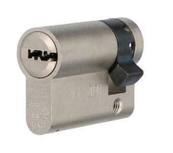 Enkele veiligheidscilinder S2 SKG2 35/10 Met Keersleutel