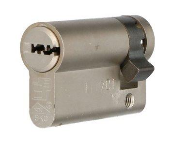 Enkele veiligheidscilinder S2 SKG2 40/10 Met Keersleutel