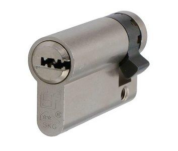 Enkele veiligheidscilinder S2 SKG2 45/10 Met Keersleutel