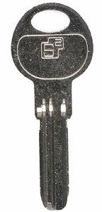 Extra sleutel voor S2 veiligheidsprofielcilinders F6 SKG2